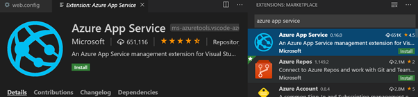 Azure App Service Extension for VS Code.png